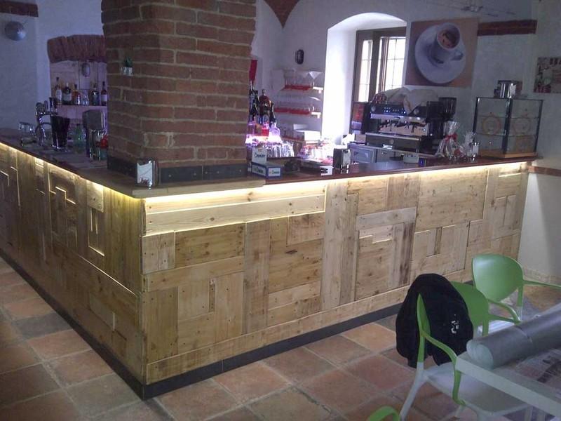 Arredo shop olivero tecnologia design arredo bar for Usato bancone bar
